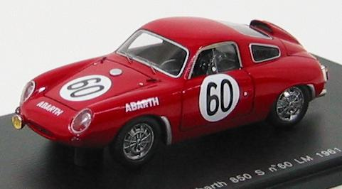 Abarth 850S #60 14th LM 1961