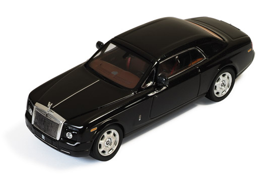 Rolls-Royce Phantom Coupe (2008) Black