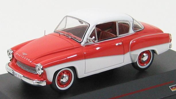 Wartburg 311 Coupe (1958) Orange and Cream