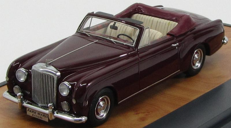 Bentley S1 Continental Park Ward Dhc 1956