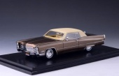 CADILLAC Coupe DeVille 1968 Chestnut Brown Poly
