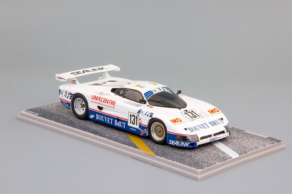 SPICE FORD  #131 LeMans (1988), white