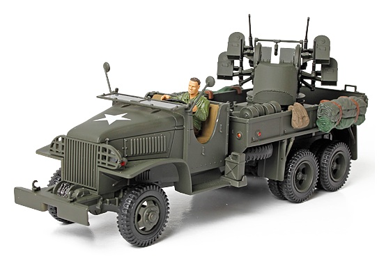 GMC 2½ Ton Cargo Truck With 4x0.5 AA Machine Gun