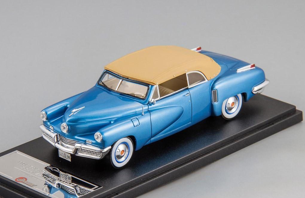Tucker Torpedo Convertible top up 1948 (blue)