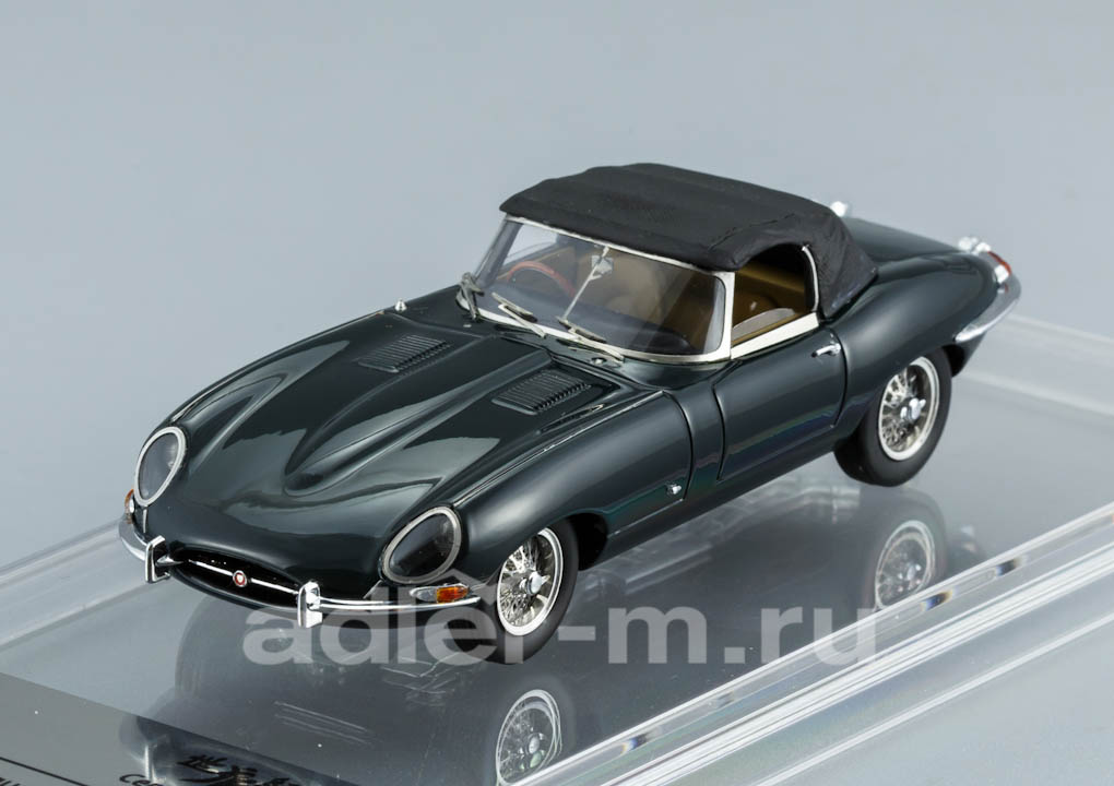 Jaguar E-Type Series 1 Soft Top 1961 British Racing Green