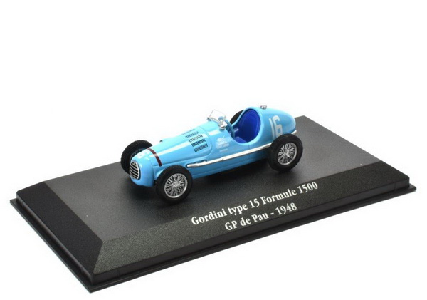 GORDINI Type 15 #16 Formula 1500 GP Pau 1948