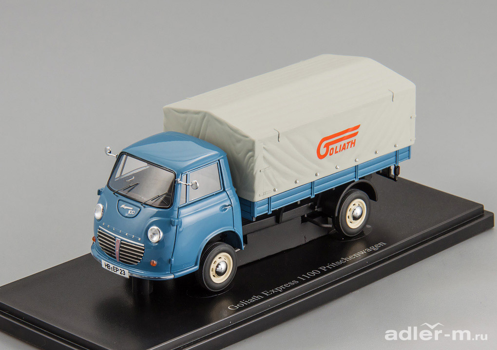 Goliath Express 1100 Pritsche Germany 1957