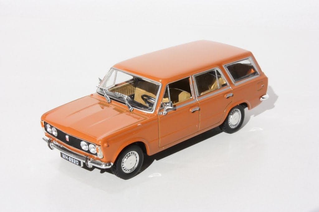 Fiat 125p Kombi 1967 Brown
