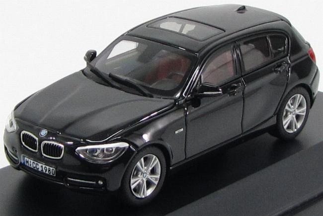 BMW 1-Series (F20) 2012 Black