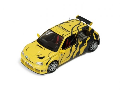 Renault Clio Maxi Test Car (1995) Yellow and Grey