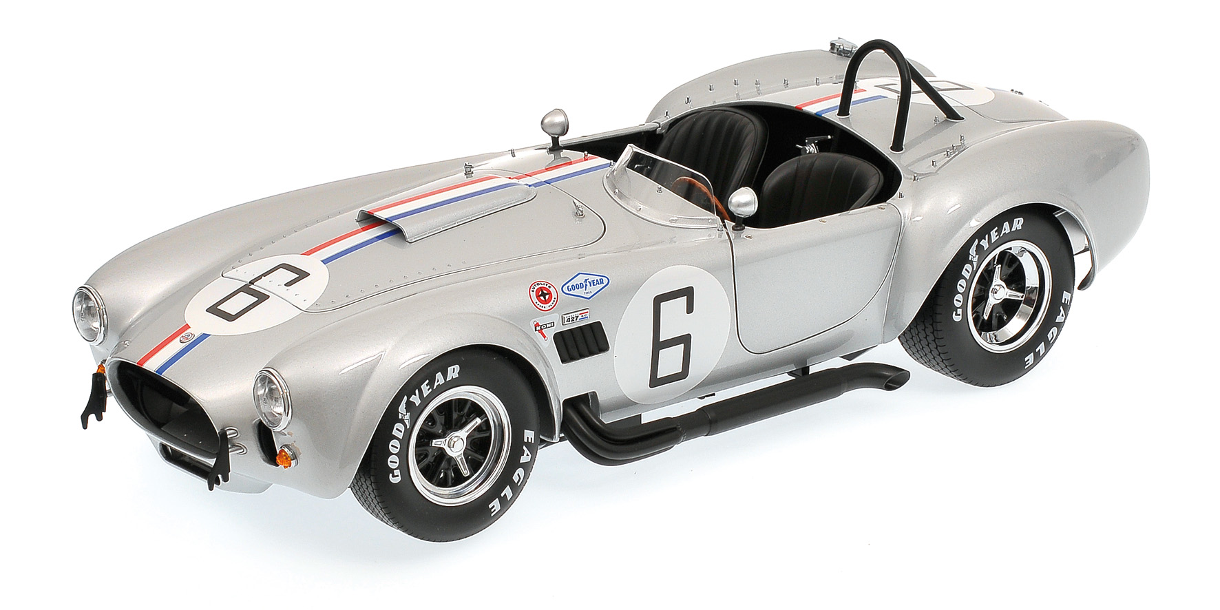 Shelby Cobra 427S/C Silver Racing Screen #6