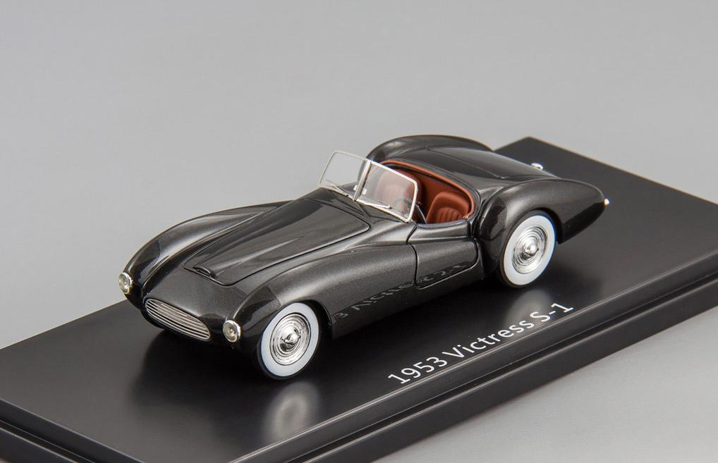 Victress S-1 sport roadster 1953 (black)