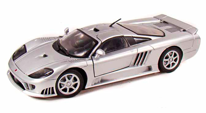 Ford Saleen S7, Silver