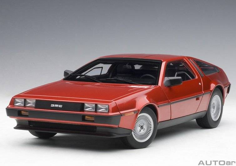 DeLorean DMC-12 1981 (red)