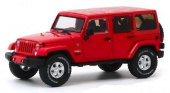 JEEP Wrangler 4x4 Unlimited Sahara 5-дв. (Hard Top) 2017 Firecracker Red