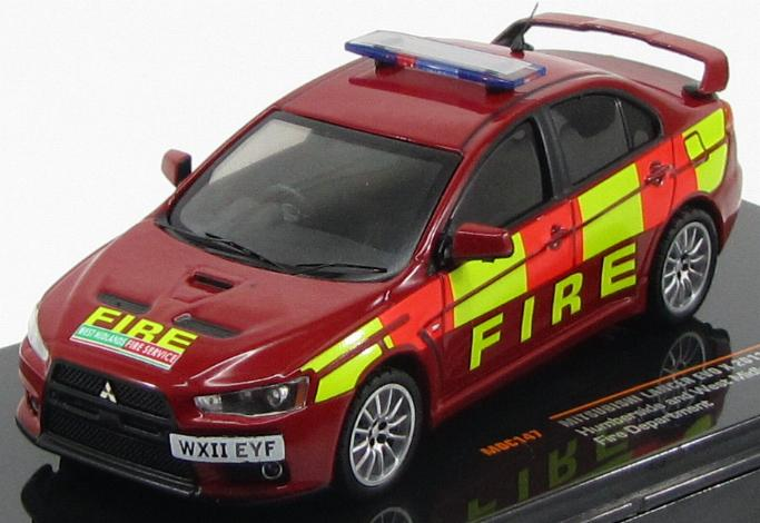 "Mitsubishi Lancer Evo X ""Humberside and West Midlands Fire Department"" 2011"