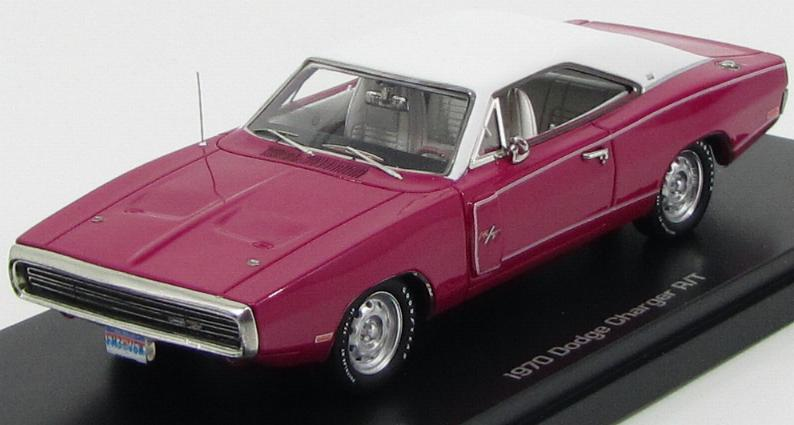 Dodge Charger R/T 1970 Fucsia White
