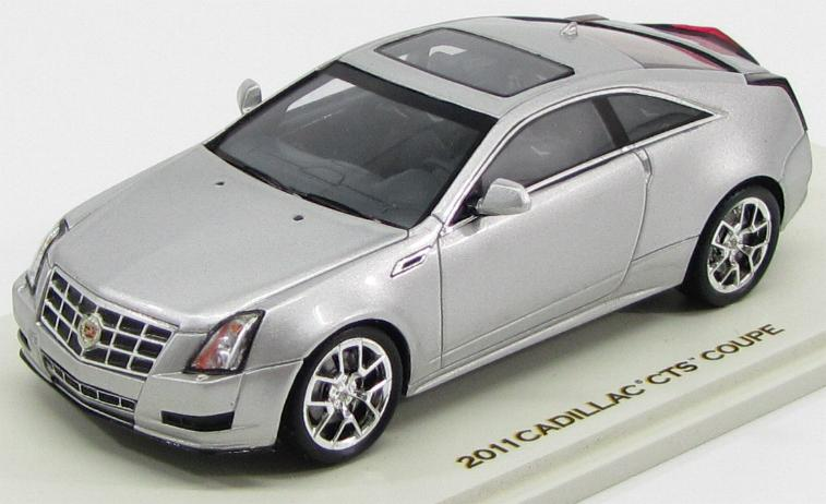 Cadillac CTS-V Coupe 2011 (Radiant Silver Metallic)