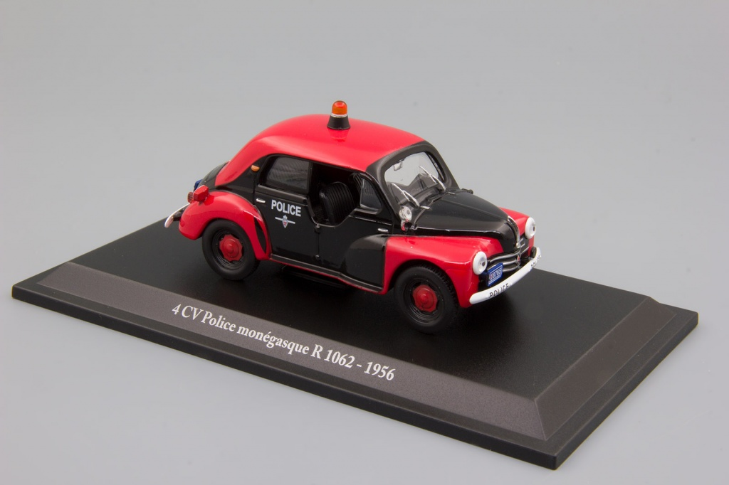 Renault 4 CV, Police Monegasque Type R 1062 (1956)