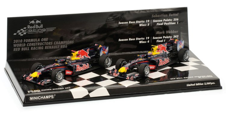 Red Bull Racing Renault RB6 Double Set 2010, Constructors World Championship