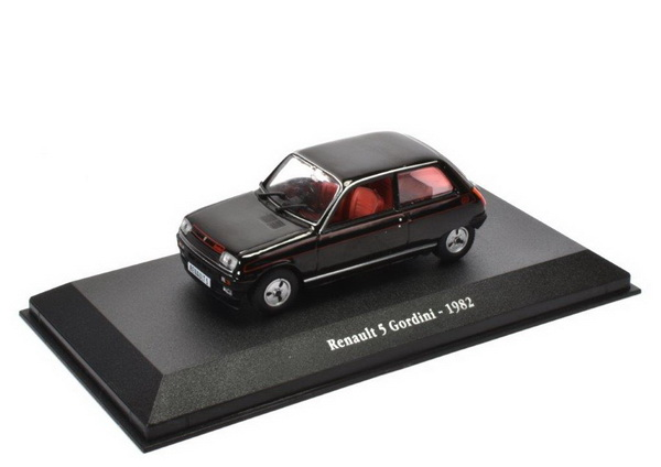 RENAULT 5 Gordini 1982 Black
