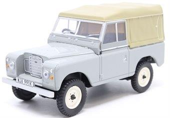 LAND ROVER Series III SWB Canvas 1976 Mid Grey