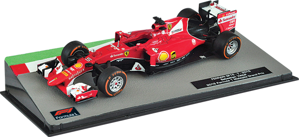 Ferrari SF15-T Себастьян Феттель (2015), Formula 1 Auto Collection 5