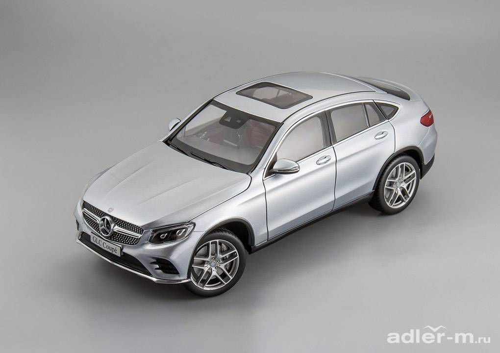 Mercedes-Benz GLC Coupe (C253) (diamant silver)