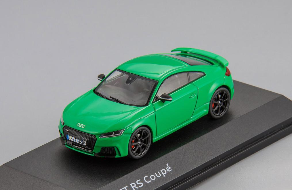 Audi TT RS Coupe (green) 2017