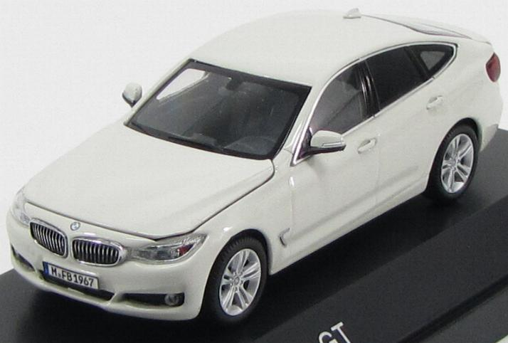 BMW 3-Series GT (F34) 2013 White