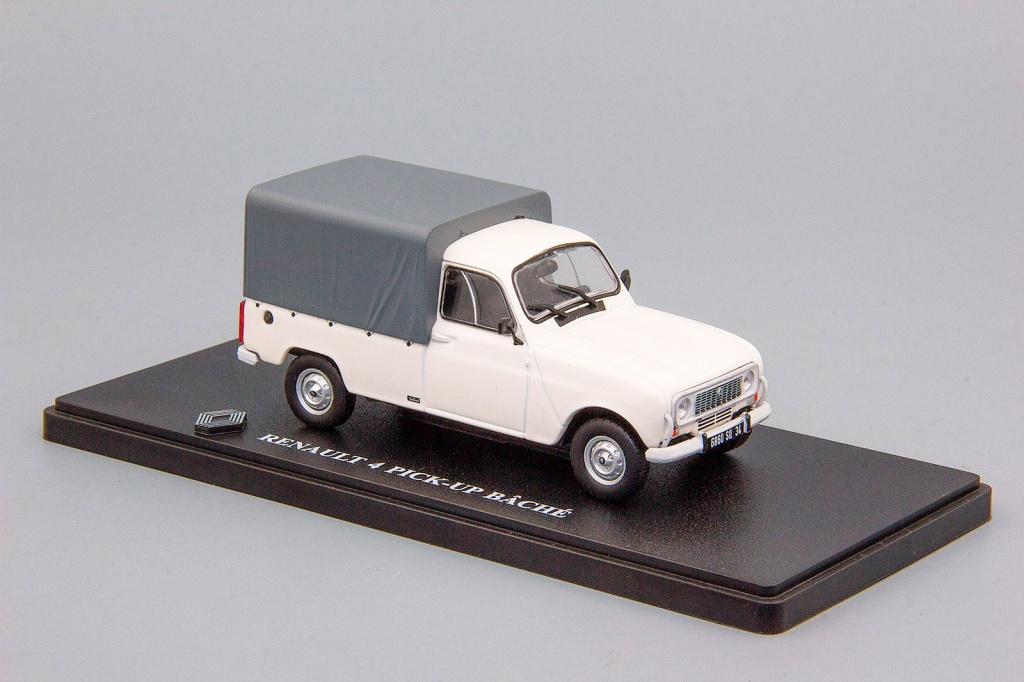 Renault R4 F6 Pick-Up Avec Bache -1983-