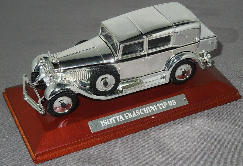 ISOTTA Fraschini Tipo 8 1930 Silver