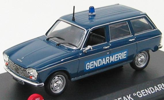 Peugeot 204 Break Gendarmerie 1975