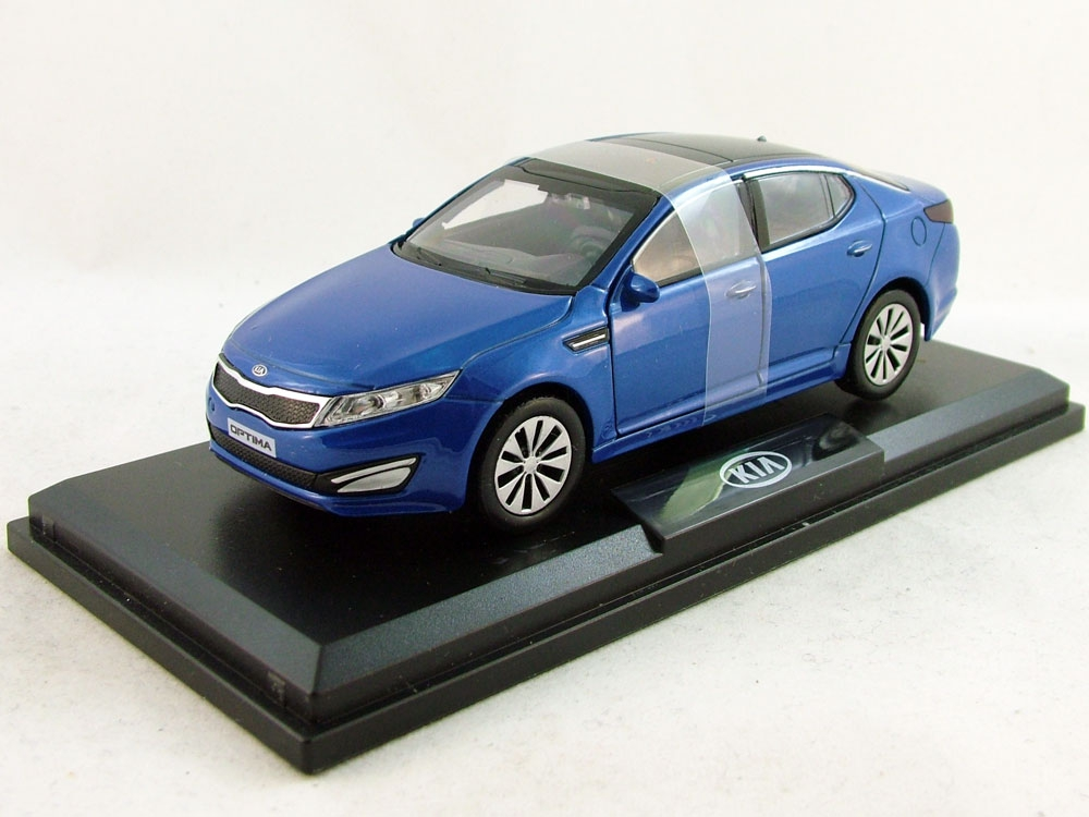 KIA Optima III (K5), KIA Collection 1:38, ярко-синий