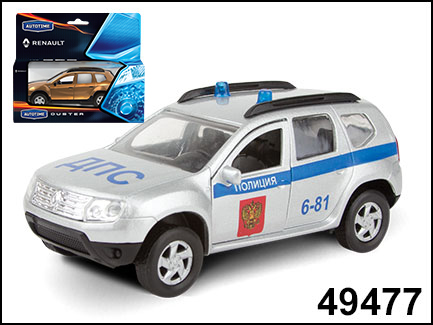 RENAULT DUSTER ДПС 1:38