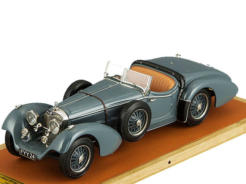 Mercedes-Benz SS By Erdmann & Rossi, top down (grey)