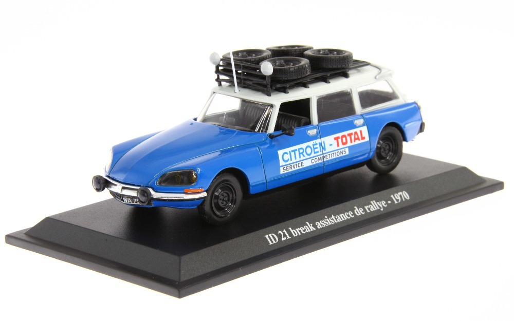 Citroen ID 21 Break Assistance De Rallye -1970-