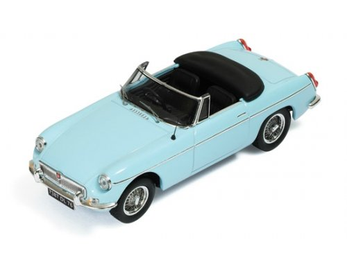 MG B Cabriolet L (1964) Light Blue