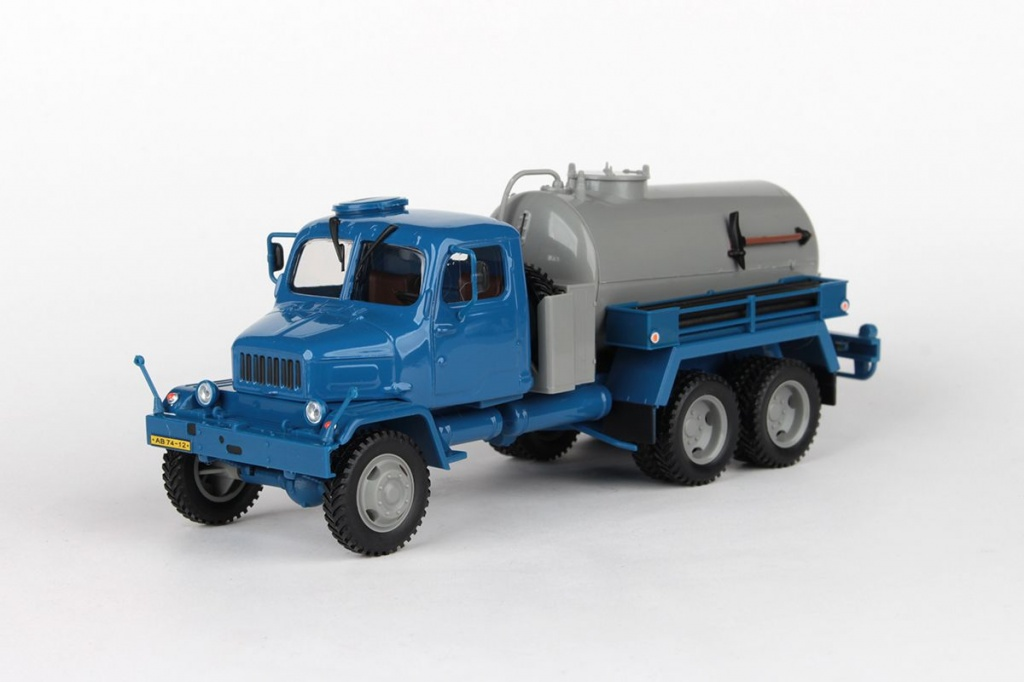 Praga V3S Fecal Sludge Truck (1967) Blue/Grey
