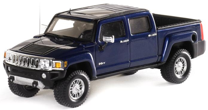 Hummer H3T 2008 (All Terrain Blue)