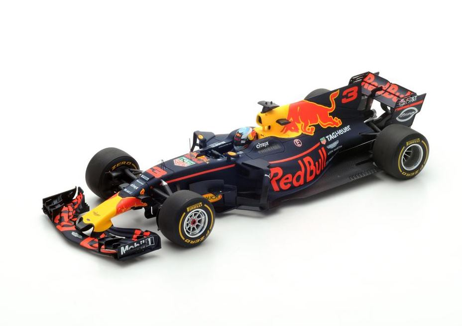 Red Bull Racing #3 3rd Spanish GP 2017 Tag Heuer RB13 Daniel Ricciardo