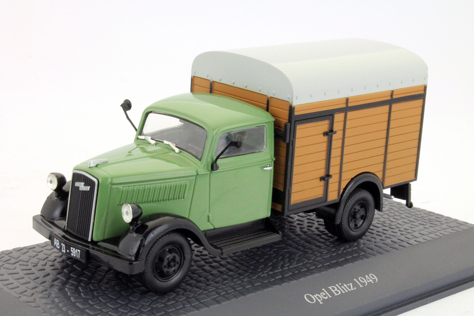Opel Blitz 1,5t Viehtransporter 1949 Green