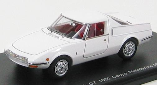 Abarth OT 1000 Coupe Pininfarina 1965 White