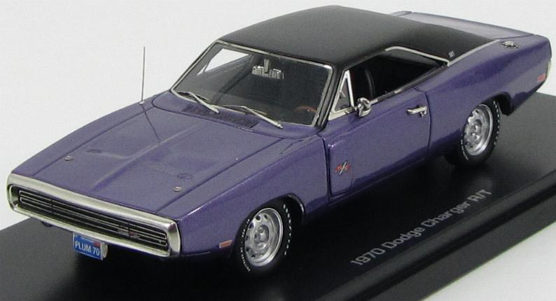 Dodge Charger R/T 1970 Violet Metallic Matt Black