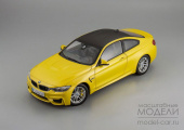 BMW M4 Coupe (yellow)