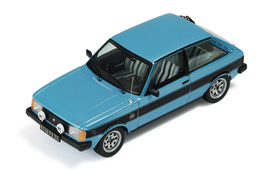 Talbot Sunbeam Lotus Phase 2 (1982) Metallic Blue and Silver
