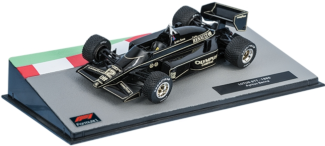 LOTUS 97T Айртона Сенны (1985), Formula 1 Auto Collection 14