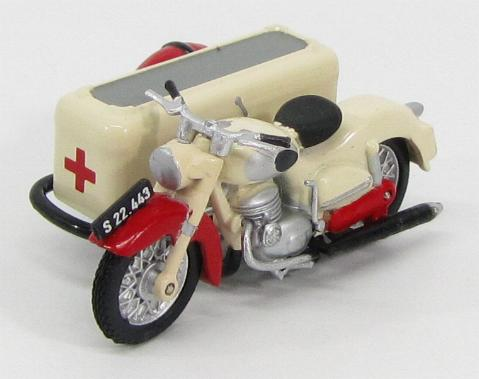 Puch SG 250 With Sidecar Ambulance 1954