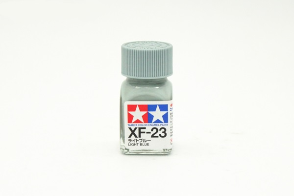 XF-23 Light Blue flat, enamel paint 10 ml. (Голубой матовый) Tamiya