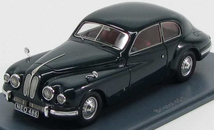 Bristol 401 1950 Dark Green